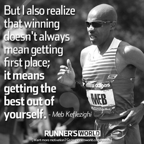 Running qoute runnersworld